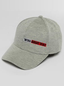 Who Shot Ya? / Snapback Cap Lucid Style in grey-Universal Store London™