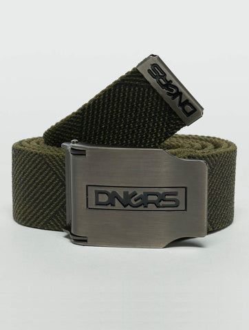 Image of Dangerous DNGRS / Belt Ribbon in olive-Universal Store London™