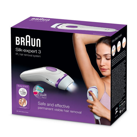 Electric IPL Hair Remover Braun 223359 White-Universal Store London™