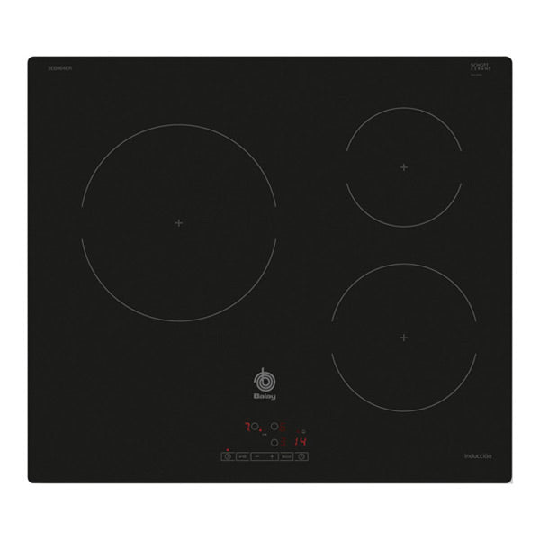 Induction Hot Plate Balay 219234 4600W 60 cm Black Crystal-Universal Store London™