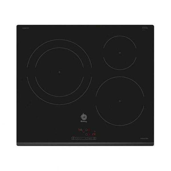 Induction Hot Plate Balay 3EB865FR 60 cm Black (3 cooking areas)-Universal Store London™