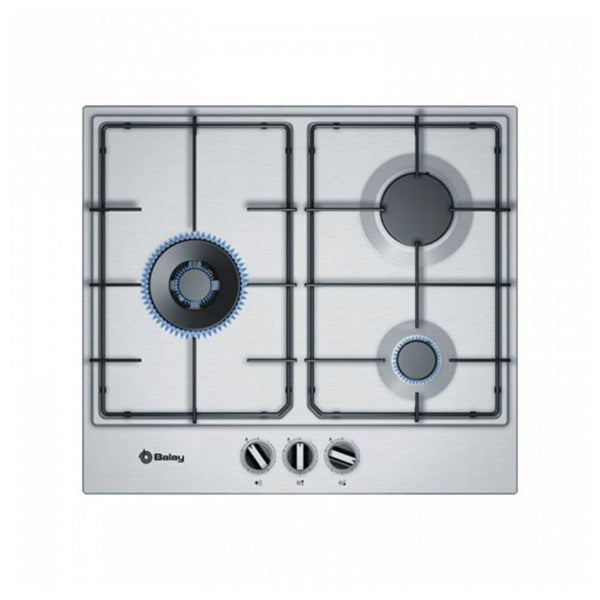 Gas Hob Balay 3ETX663MN 60 cm Stainless steel (3 stoves)-Universal Store London™