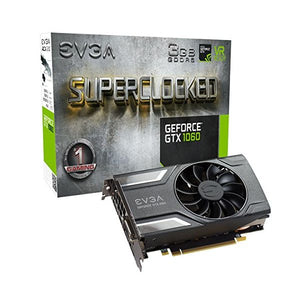Gaming Graphics Card EVGA 03G-P4-6162-KR GTX 1060 SC ACX 2.0 3 GB|DDR5-Universal Store London™
