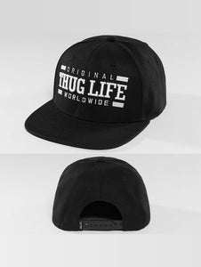 Thug Life / Snapback Cap Worldwide in black-Universal Store London™