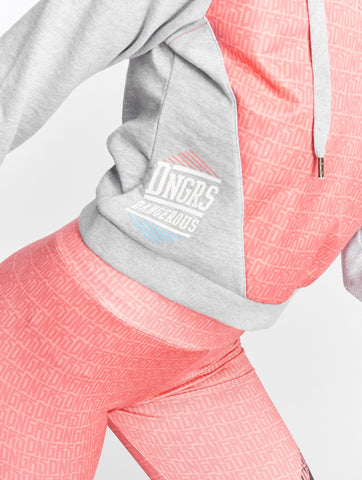 Image of Dangerous DNGRS / Hoodie Tackle in grey-Universal Store London™