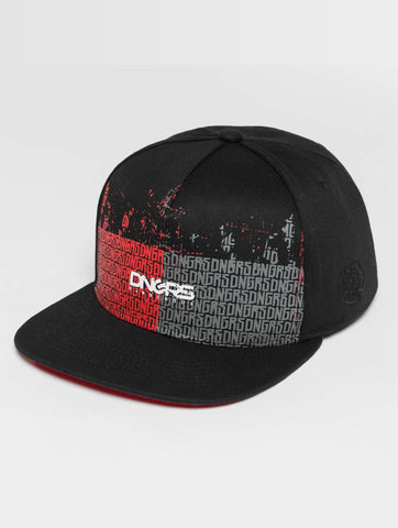 Dangerous DNGRS / Flexfitted Cap CTwoblock in black-Universal Store London™