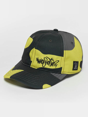 Who Shot Ya? / Flexfitted Cap Devious WW in yellow-Universal Store London™