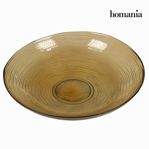 Image of Brown spiro center piece - Crystal Colours Kitchen Collection by Homania-Universal Store London™