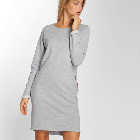 Just Rhyse / Dress Santadi in grey-Universal Store London™