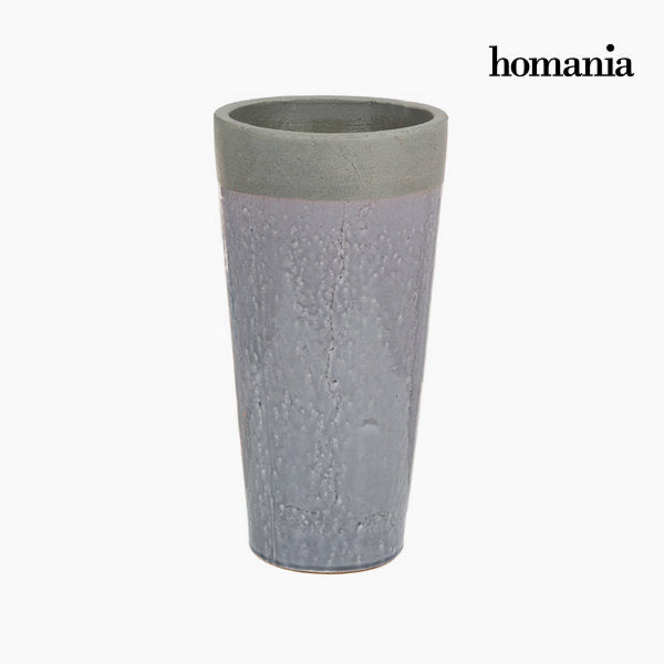 Gray ceramic vase by Homania-Universal Store London™