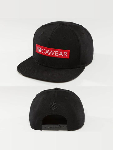 Image of Rocawear / Snapback Cap Logo in black-Universal Store London™