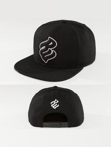 Image of Rocawear / Snapback Cap Big Logo in black-Universal Store London™
