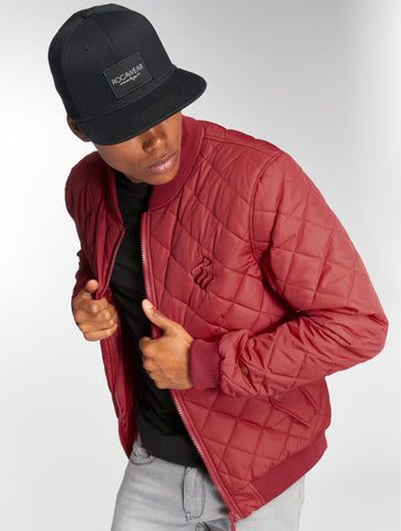 Rocawear / Bomber jacket RW Bomber in red-Universal Store London™