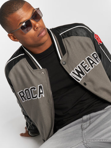 Rocawear / Bomber jacket RW Bomber 2 in black-Universal Store London™
