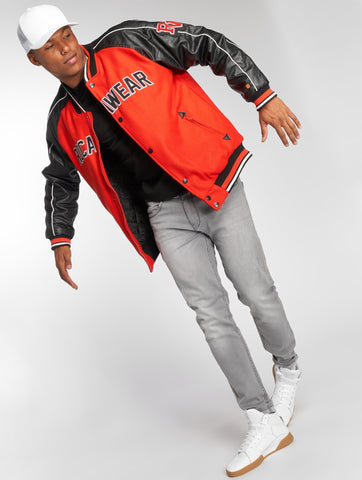 Rocawear / Bomber jacket Bomber in red-Universal Store London™