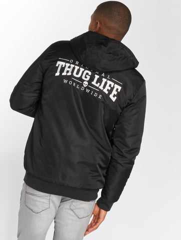 Thug Life / Winter Jacket Divers in black-Universal Store London™