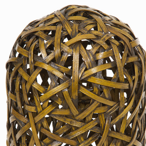 Lamp Metal Wicker Brown (21 x 21 x 60 cm) by Shine Inline-Universal Store London™