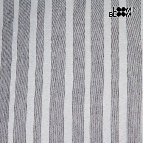 Image of Judith cushion gray stripe by Loom In Bloom-Universal Store London™