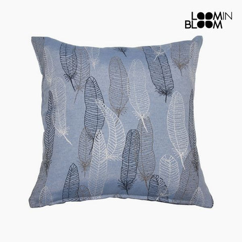 Image of Cushion (45 x 45 cm) Blue - Jungle Collection by Loom In Bloom-Universal Store London™