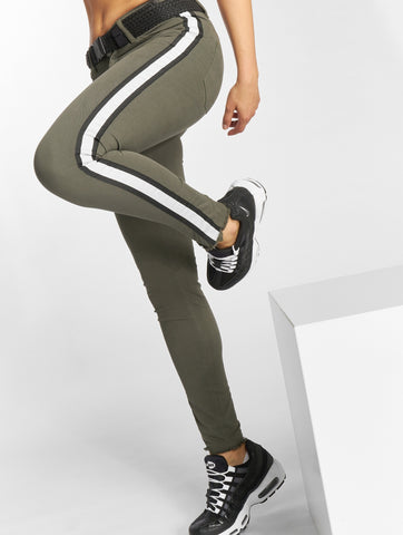 Just Rhyse / Skinny Jeans Giny in olive-Universal Store London™