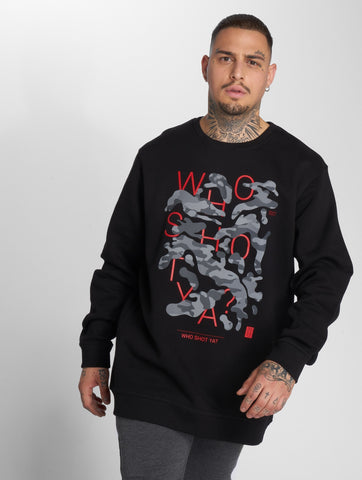 Image of Who Shot Ya? / Jumper Shotulous in black-Universal Store London™