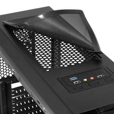 Image of Micro ATX/ATX Midtower Case Tacens MC5 USB 3.0-Universal Store London™
