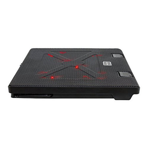 "Image of Gaming Cooling Base for a Laptop Tacens AAOARE0123 MNBC2 2 x USB 2.0 20 dBA 17"" Black-Universal Store London™"