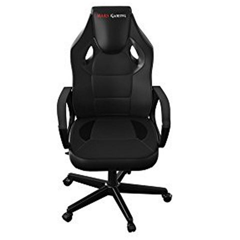 Gaming Chair Tacens MGC0BK Metal PVC Black-Universal Store London™