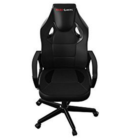 Image of Gaming Chair Tacens MGC0BK Metal PVC Black-Universal Store London™