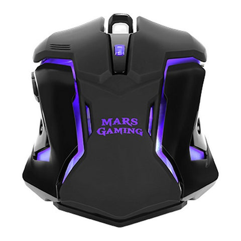 Gaming Mouse Mars Gaming MRM0 4000 DPI Black-Universal Store London™