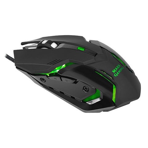Image of Gaming Mouse Mars Gaming MRM0 4000 DPI Black-Universal Store London™