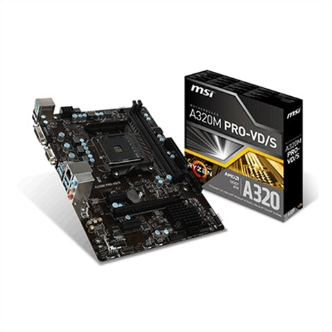 Image of Motherboard MSI 911-7A36-004 A320M PRO-VD/S PC 32 GB-Universal Store London™