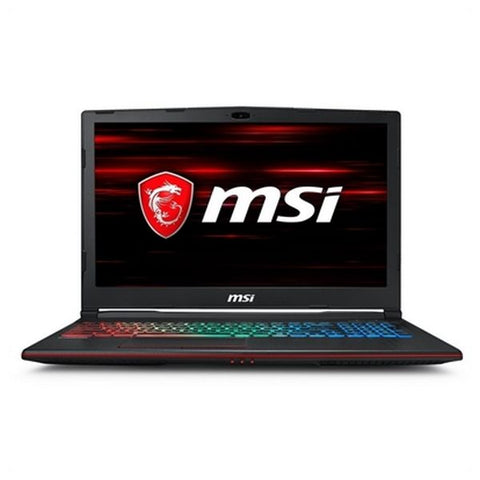 Image of Gaming portable computer MSI GP63-684XES 15,6'''' i7-8750H 16 GB RAM 1 TB SSD Black-Universal Store London™