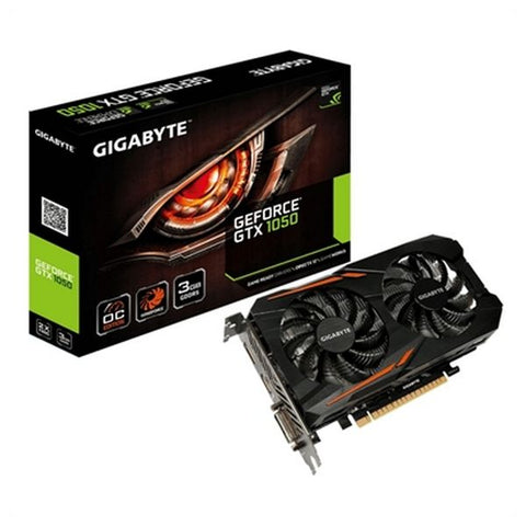 Gaming Graphics Card Gigabyte GV-N1050OC-3GD 3 GB DDR5 ATX-Universal Store London™