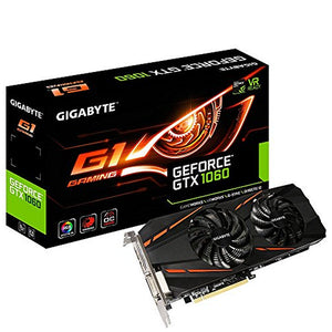 Gigabyte VGA NVIDIA GTX 1060 GAMING 6GB DDR5-Universal Store London™
