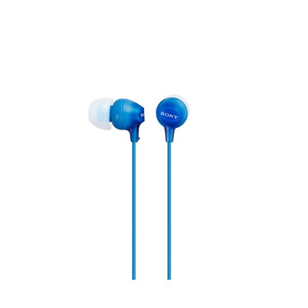 Headphones Sony MDR EX15LP in-ear Blue-Universal Store London™