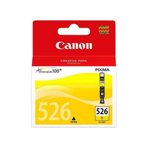 Original Ink Cartridge Canon CLI-526Y MG5350 Yellow-Universal Store London™