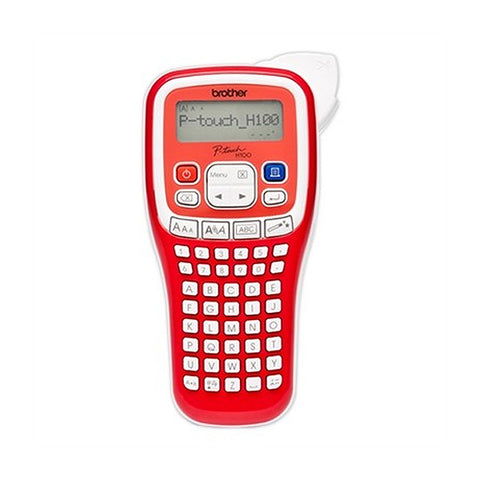 Electric Label Maker Brother PTH100RXG1 Red-Universal Store London™