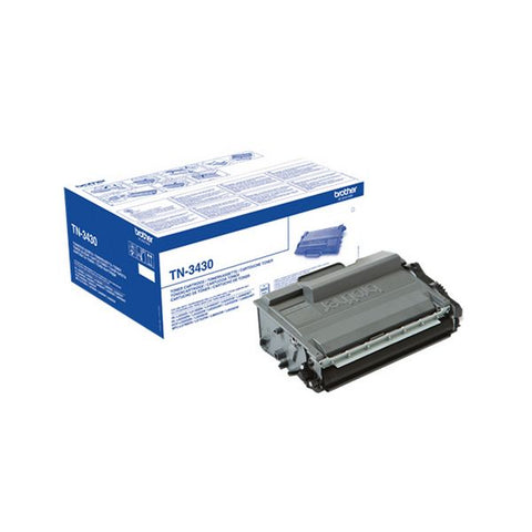 Image of Original Toner Brother TN-3430 DCP-L5500DN Black-Universal Store London™