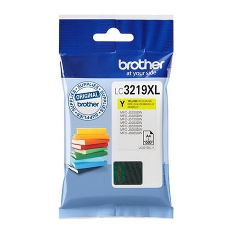 Original Ink Cartridge Brother LC3219XLY Yellow-Universal Store London™