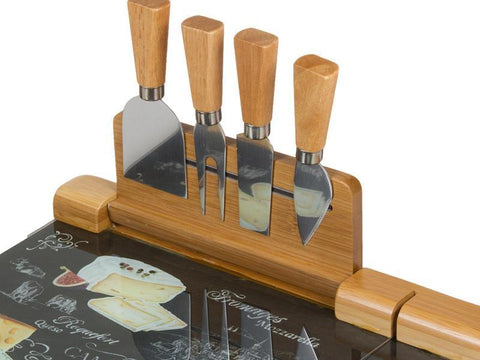 Image of 5-space cheese cutting table - Kitchen's Deco Collection-Universal Store London™