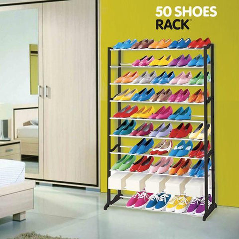 Image of 50 Shoes Rack Shoe Rack-Universal Store London™