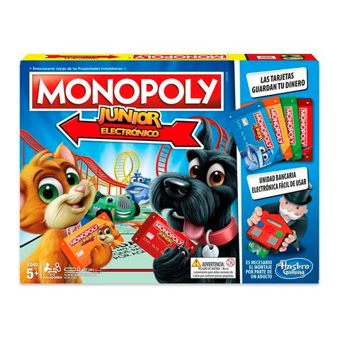 Junior Electronic Monopoly Hasbro-Universal Store London™