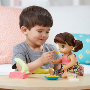 Baby Alive Super Snacks Snackin' Noodles Baby (Brunette) Hasbro-Universal Store London™