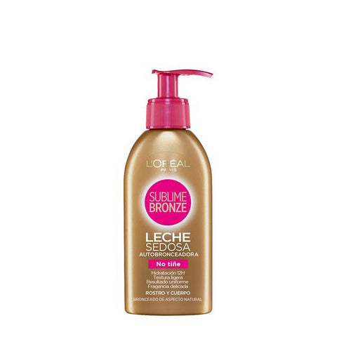 Self-Tanning Body Lotion Sublime Bronze Milk L'Oreal Make Up (150 ml)-Universal Store London™