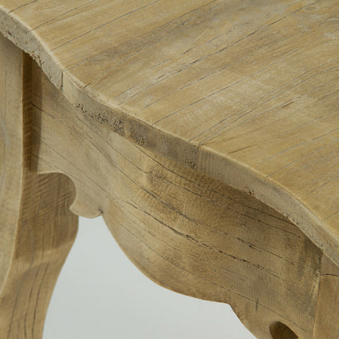 Side Table Rubber wood (66 x 45 x 66 cm) - Poetic Collection by Craftenwood-Universal Store London™