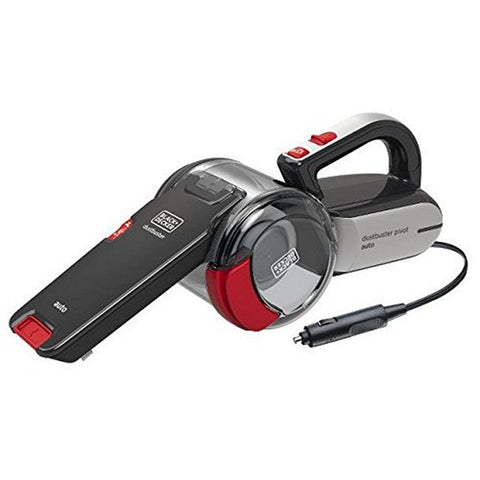 Cyclonic Hand-held Vacuum Cleaner Black & Decker PV1200AV 12,5 W 0,44 L Black Red-Universal Store London™
