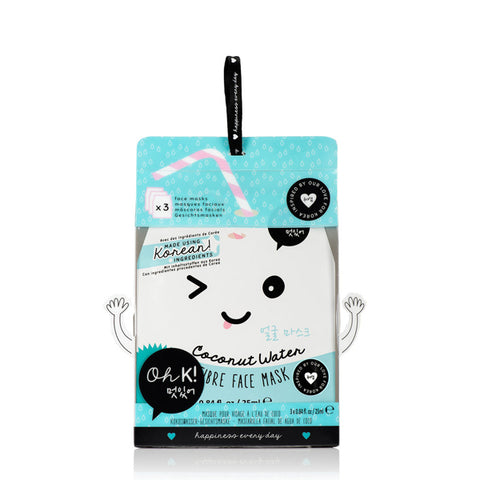 Facial Mask Coconut Water Oh K! (3 pcs)-Universal Store London™