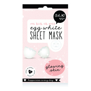 Facial Mask Egg White Oh K! (20 ml)-Universal Store London™