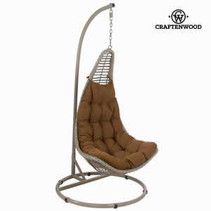 Brown hanging basket by Craftenwood-Universal Store London™